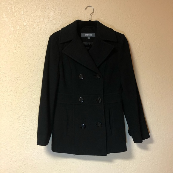 Kenneth Cole Reaction Jackets & Blazers - 🖤Black Kenneth Cole Reaction Wool Coat🖤